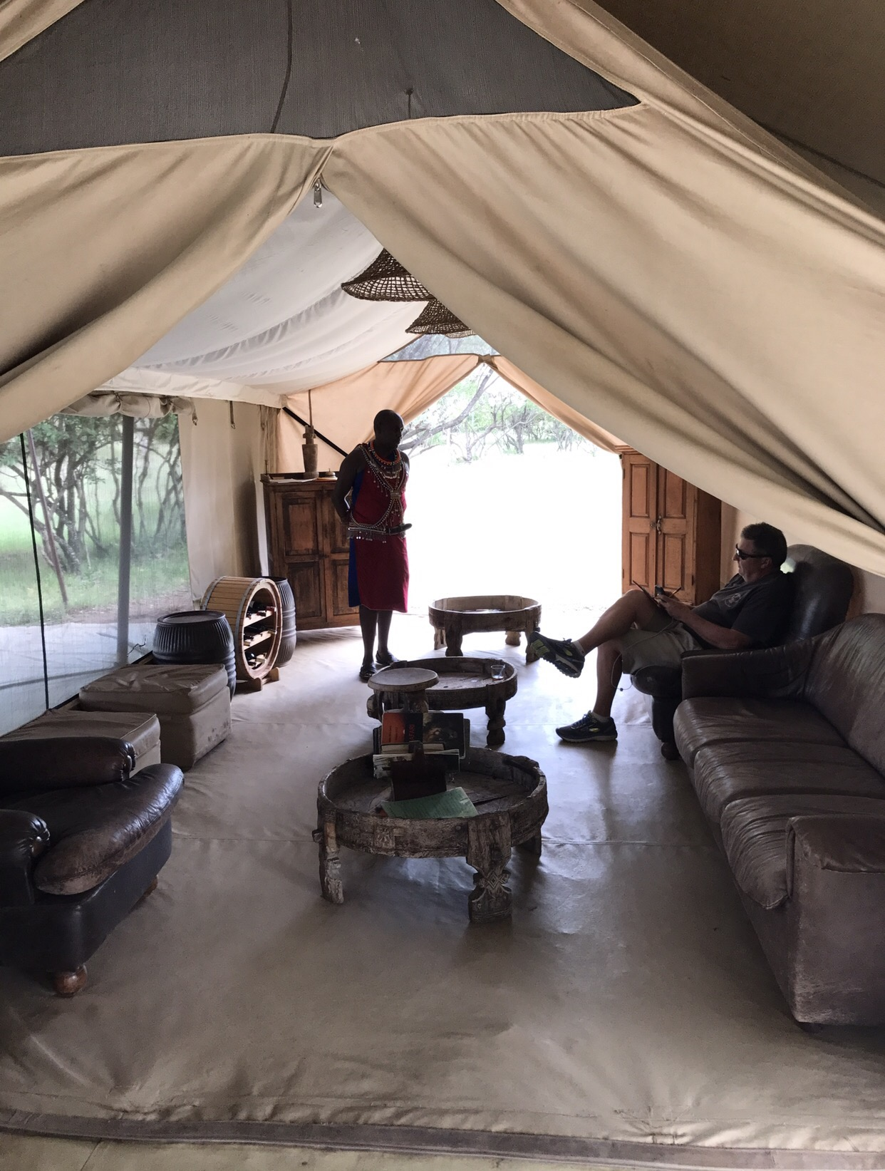 Rezeption im Camp
