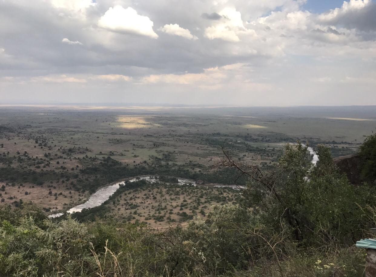 Blick in die Mara und den Mara River