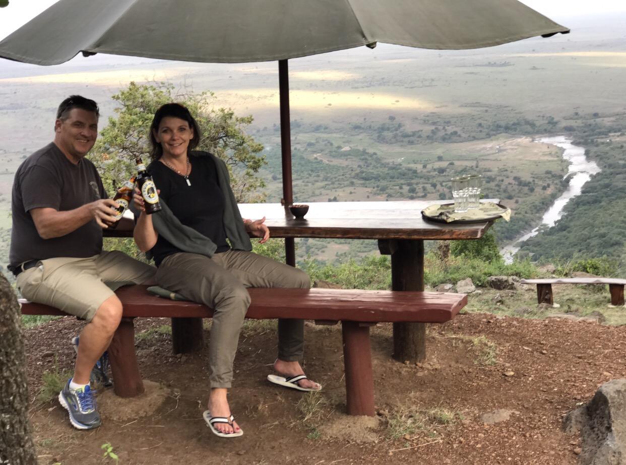 Ein Traumblick in die Masai Mara