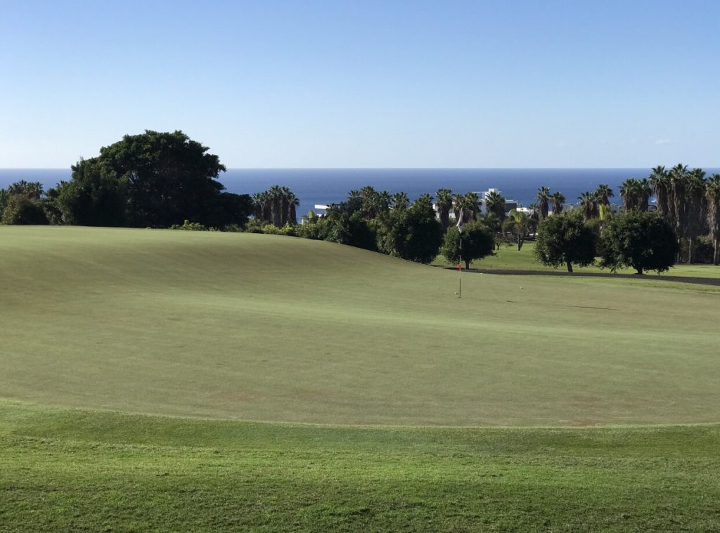 Golf Costa Adeje tricky Green