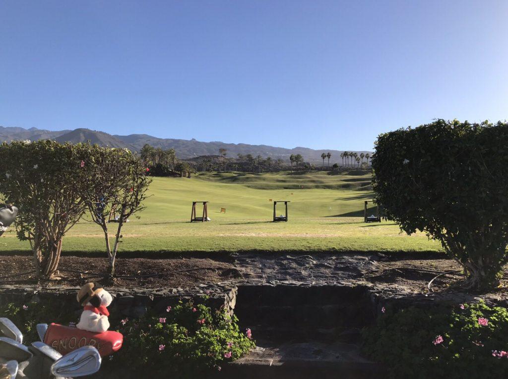 Abama Golf Driving Range