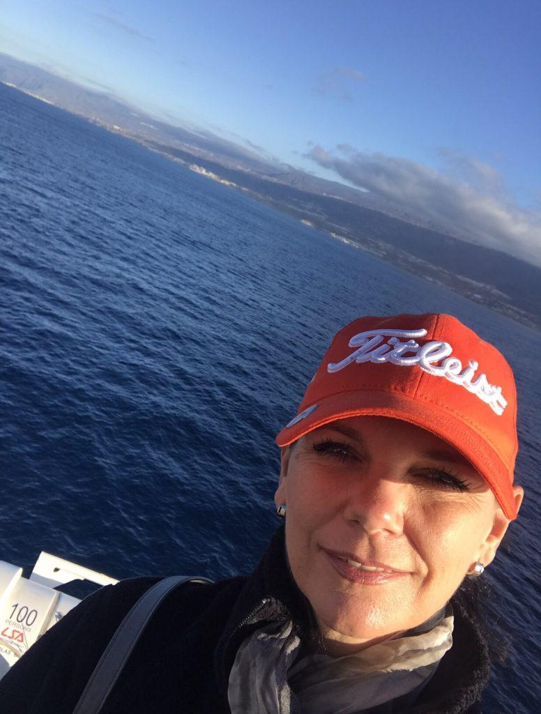 Auf See nach La Gomera