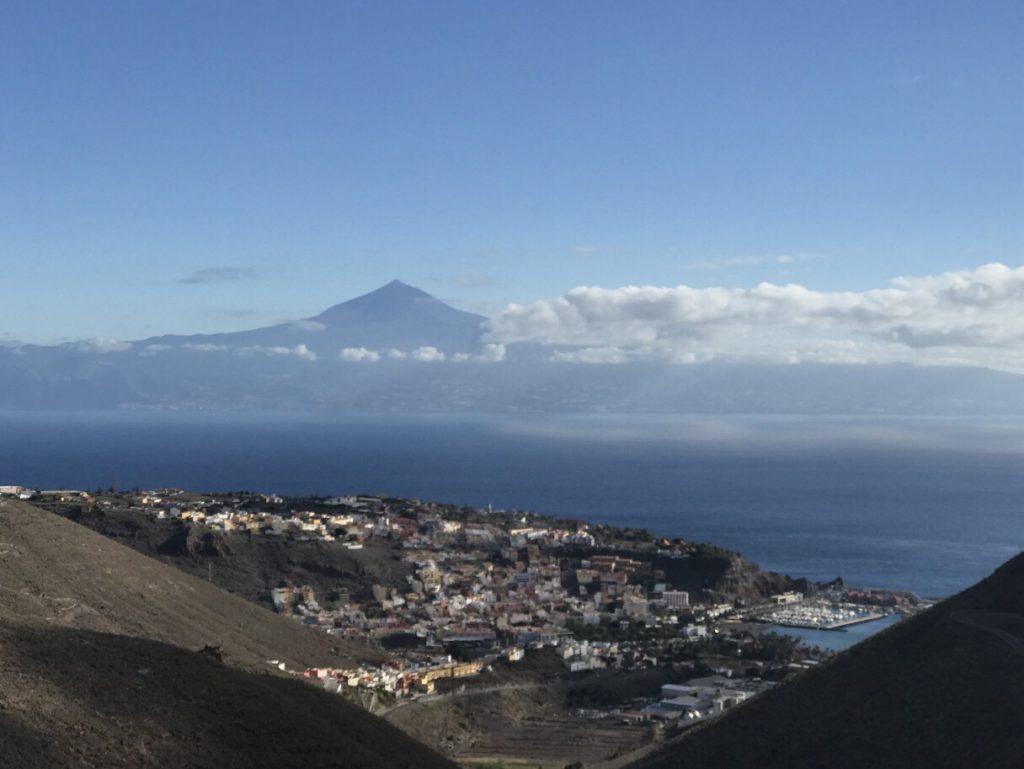 Teide von La Gomera aus