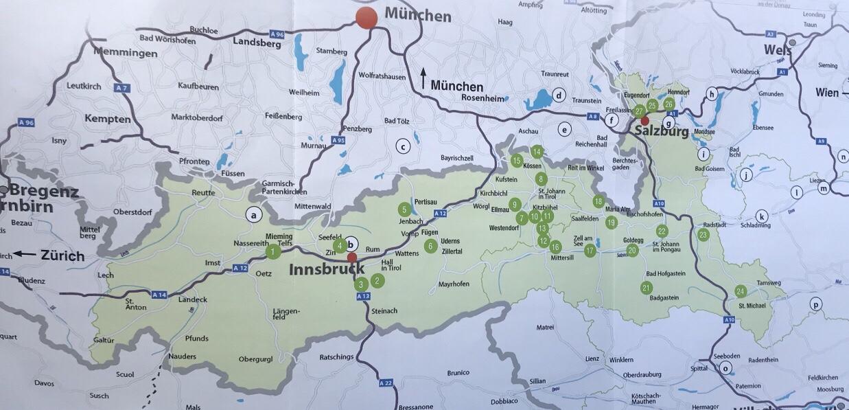 Verbreitung Golf Alpin